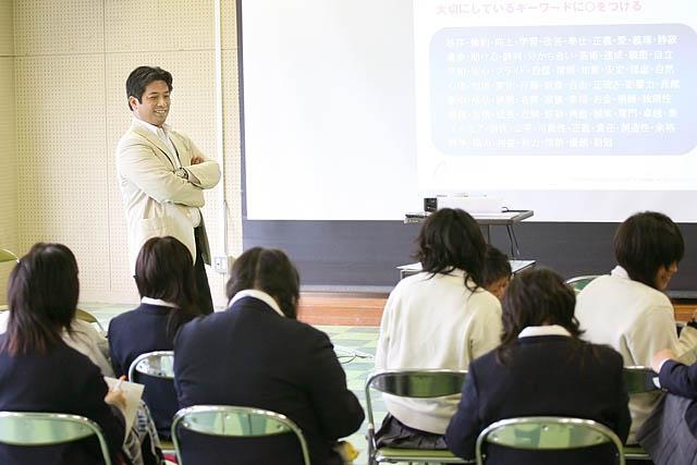 兵庫県立東灘高校授業風景1