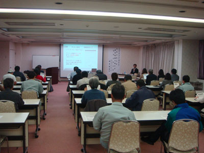 和歌山 橋本市商店街連合会主催 販促(広告)セミナー講師