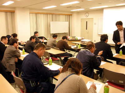 埼玉県 加須市商工会主催 商業経営講習会 販売促進(広告作成) セミナー講師