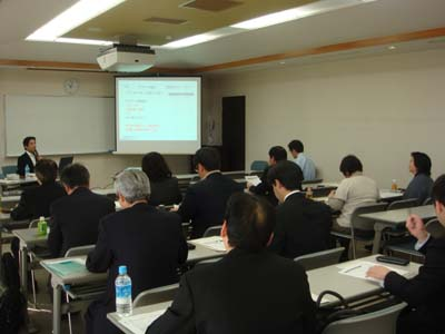 熊本県商工会議所連合会主催 経営指導員研修会講師 第二回