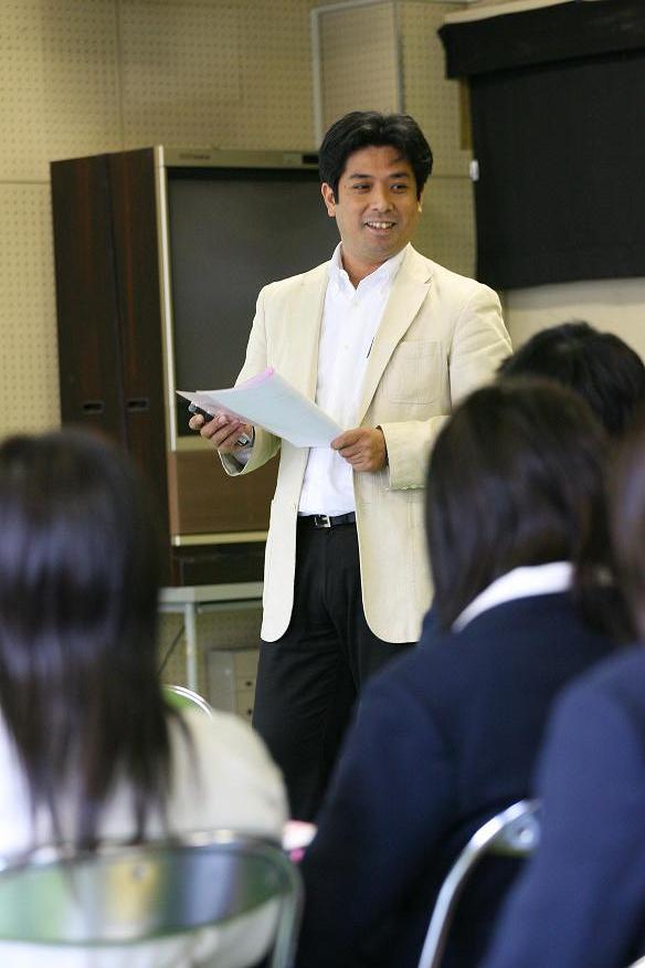 兵庫県立東灘高校授業風景2