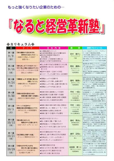 徳島 鳴門商工会議所主催 販売促進(広告制作)セミナー講師