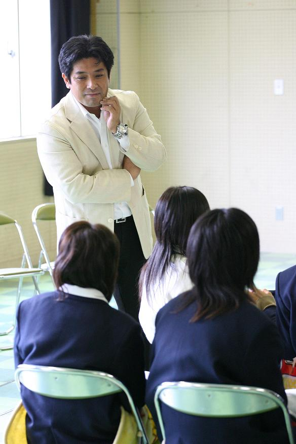 兵庫県立東灘高校授業風景3