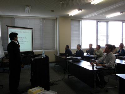 愛知 新城市商工会主催 販売促進(広告制作)セミナー講師