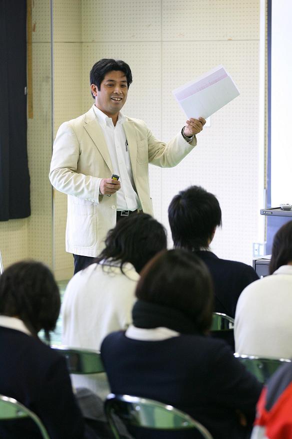 兵庫県立東灘高校授業風景4
