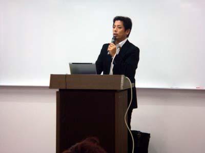 富山県商工会連合会主催 経営支援セミナー講師の様子